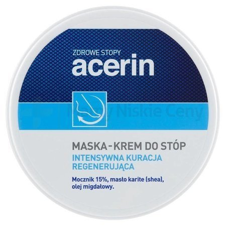 ACERIN  Maska-Krem do stóp 125 ml