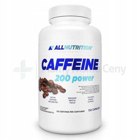 Allnutrition Caffeine 200 power 100 kapsułek