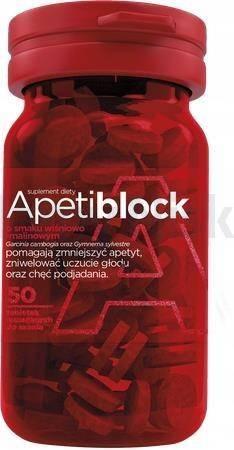 Apetiblock 50 tabletek