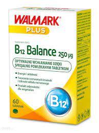 B12 Balance 250 mcg 60 tabletek