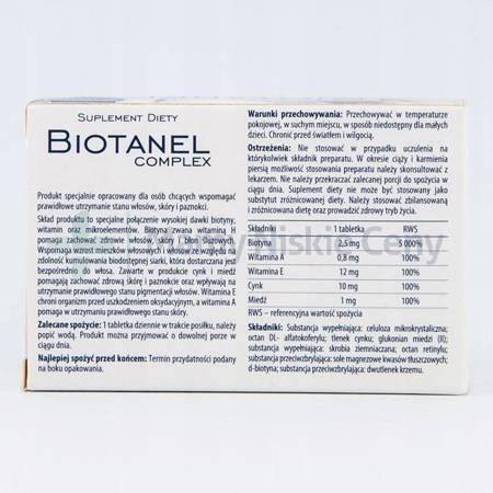 Biotanel Complex 60 tabletek