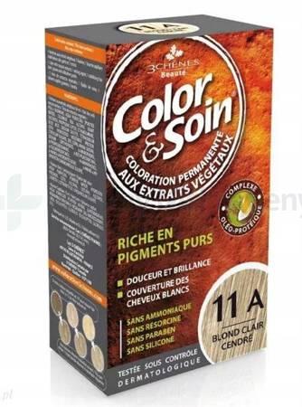 Farba COLOR&SOIN 11A piaskowo-popielaty blond