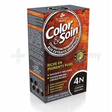 Farba COLOR&SOIN 4N szatyn naturalny
