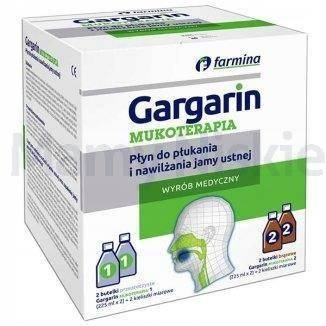 Gargarin Mukoterapia płyn 225ml (+225ml)