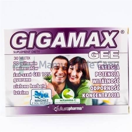 Gigamax GEE 30 tabletek