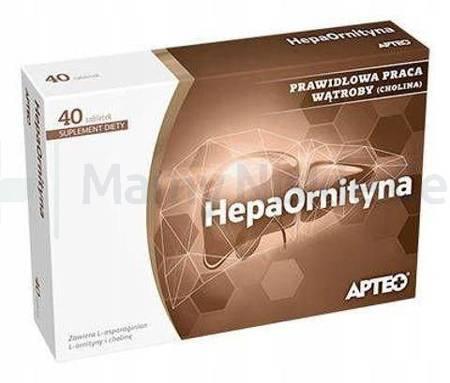 Hepaornityna APTEO 40 tabletek
