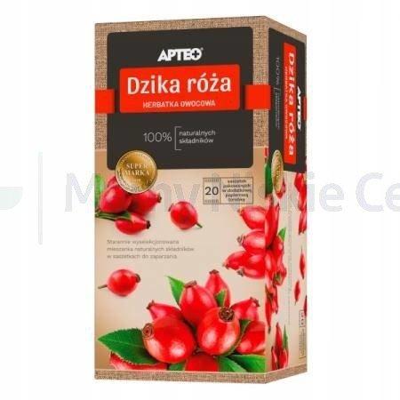 Herbatka Dzika róża APTEO 20 saszetek