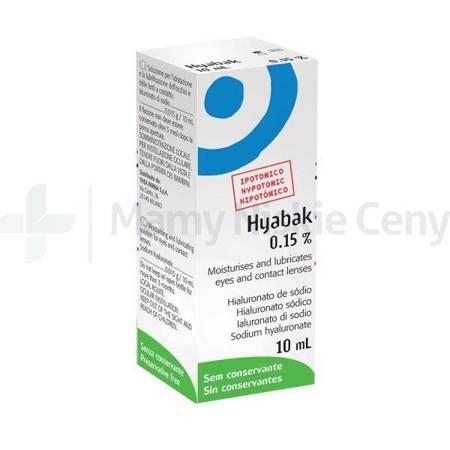 Hyabak nawilżające krople do oczu 10 ml