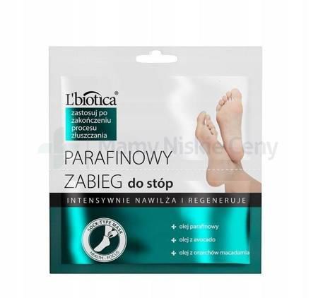 L'biotica Parafinowy zabieg do stóp 1 opakowanie