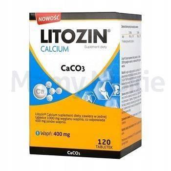 Litozin Calcium 120 tabletek