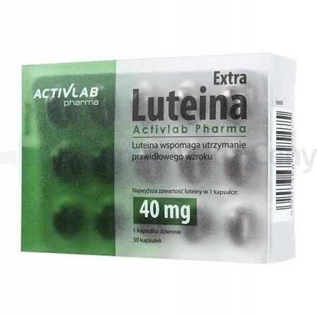 Luteina Extra 30 kapsułek