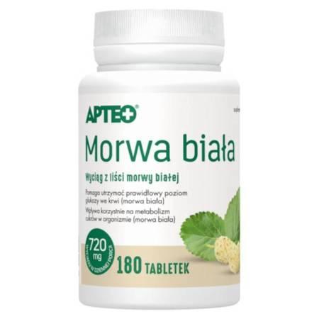 Morwa biała APTEO 180 tabletek