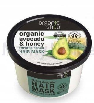 ORGANIC SHOP Maska do włosów z miodem i awokado