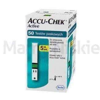 Paski Accu-Chek Active 50 pasków