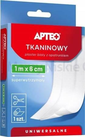 Plaster APTEO CARE tkaninowy 1m x 6cm 1szt.