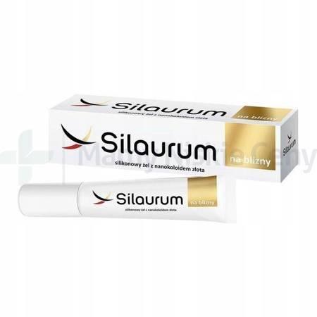 SILAURUM silikonowy żel na blizny 15ml