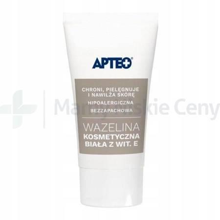 Wazelina biała kosmetyczna z witaminą E APTEO 20g