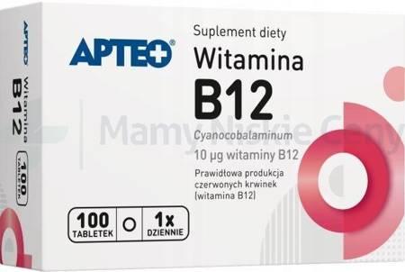 Witamina  B12 APTEO 100 tabletek